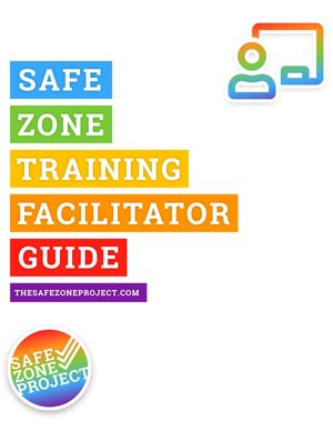 Safe Zone Facilitator Guide Cover