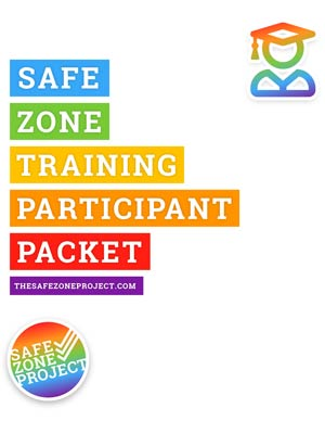 Safe Zone Participant Packet Cover